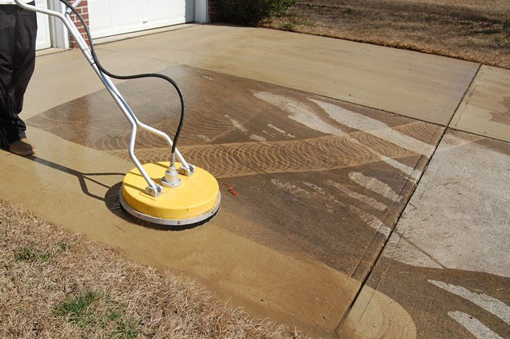 Concrete and Driveway Cleaning
